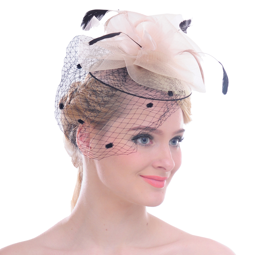 Online Buy Wholesale Feather Fascinator Hats From China