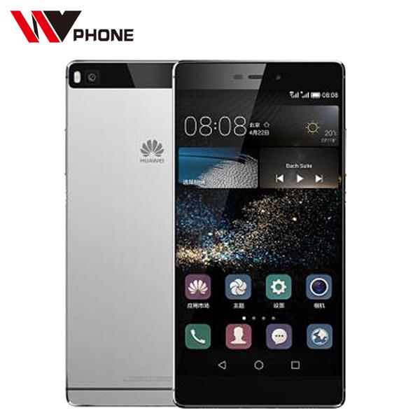Wv оригинал Huawei Ascend P8 4 г LTE мобильный телефон Android 5.0 две сим-камера 5.2 '' IPS 1080 P Octa ядро 3 ГБ оперативной памяти 16 ГБ / 64 ГБ ROM смартфон