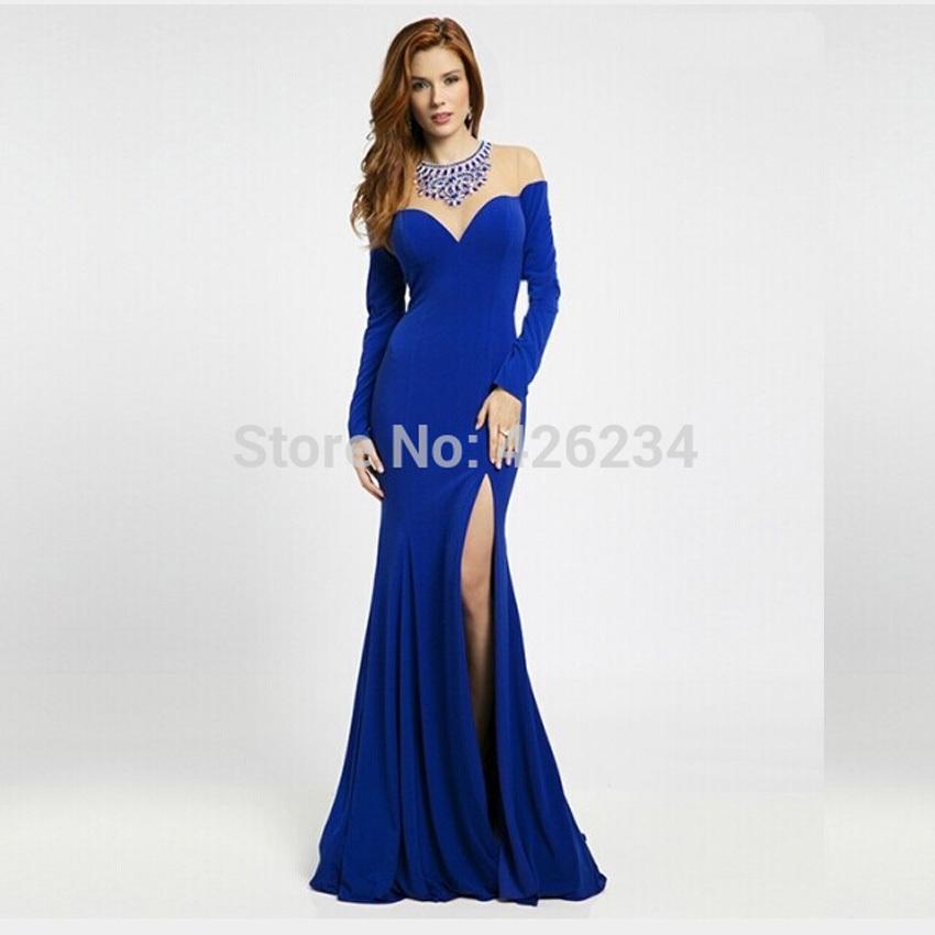 9d70d15a97f3 Long Sleeve Mermaid Wedding Dress. online buy wholesale prom dress ...