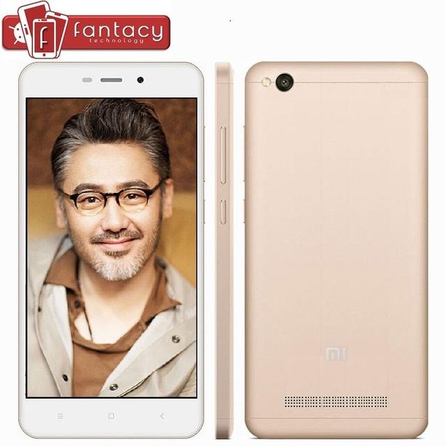 "Original Xiaomi Redmi 4A Pro 32G ROM Snapdragon 425 1.4GHz Quad Core 2G RAM FDD LTE 4G 5"" HD 13MP 1280x720p MIUI 8 Mobile Phone"