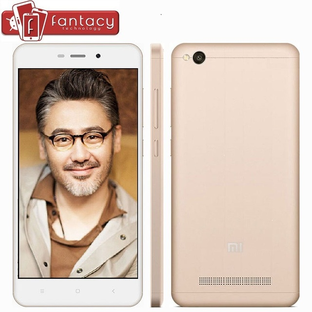 "Original Xiaomi Redmi 4A Pro 32G ROM Snapdragon 425 1.4GHz Quad Core 2G RAM FDD LTE 4G 5"" HD 13MP 1280x720p MIUI 8 Mobile Phone"