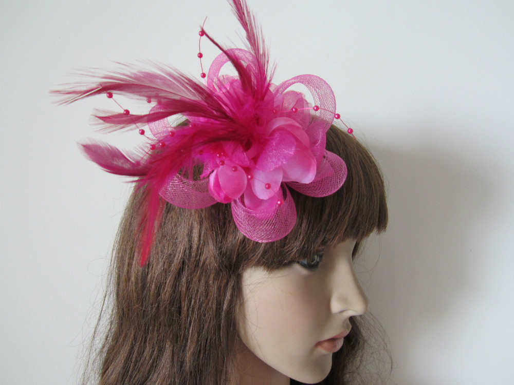 Flamingo Style Hair Clips New Style Hot Pink Wedding Party