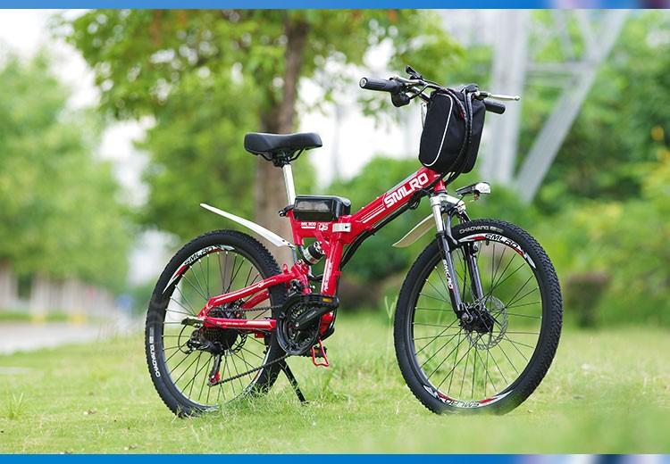 HTB1yPCrNFXXXXc8XpXXq6xXFXXXx - Authentic X-Entrance model 21 velocity 26 inch 20A 48V 500W Lithium Battery Electrical folding Mountain Bike downhill Bicycle ebike