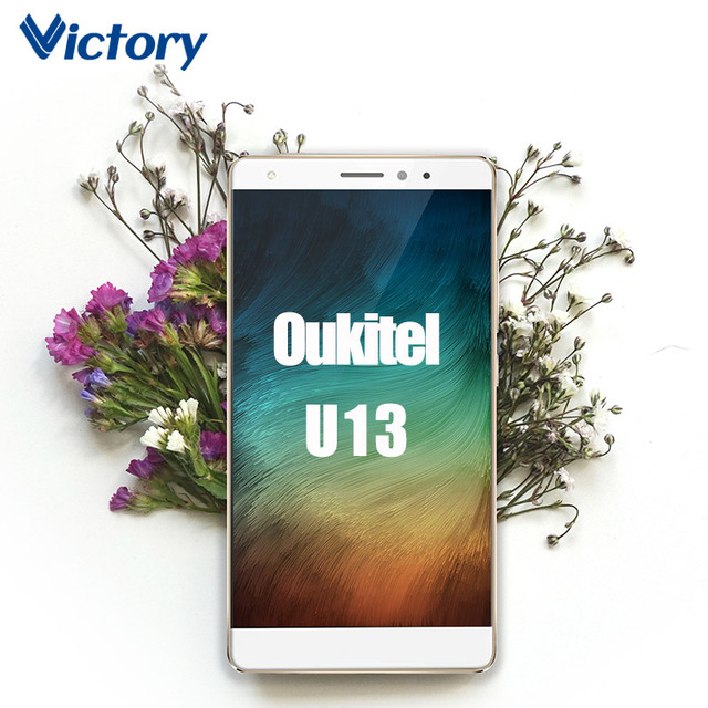Original Oukitel U13 MTK6753 Octa Core Android 6.0 Mobile Phone 5.5 Inch Fingerprint ID Cell Phones 3G RAM 64G ROM Smartphone