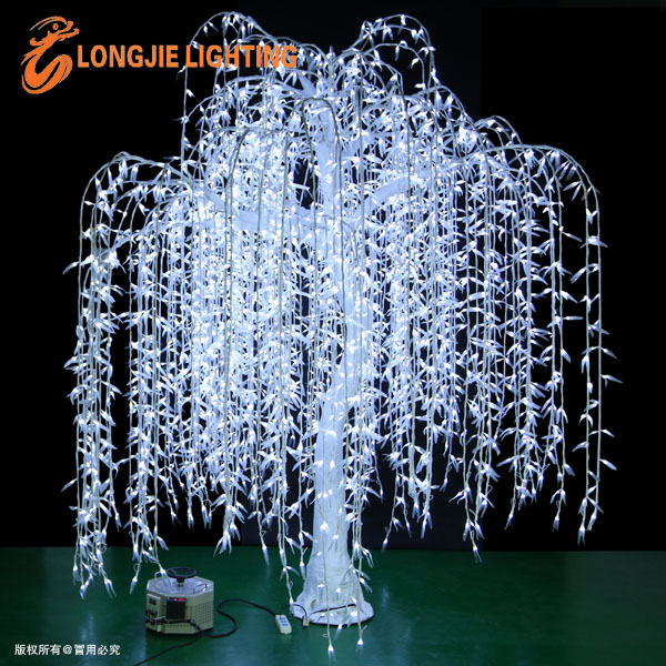 Outdoor Waterproofing Artificial Led Weeping Willow Tree