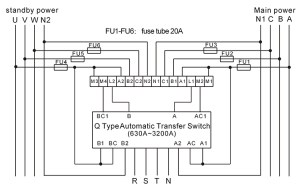 123 ATS controller automatic transfer switch, View ats controller, YUYE Product Details from One