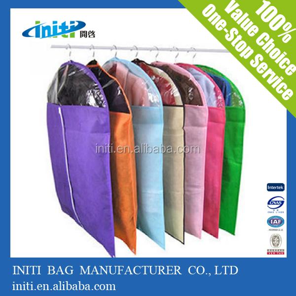 2015 promotional high quality women dress garment bags