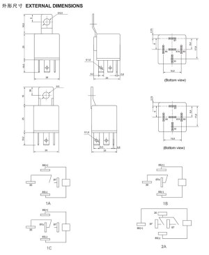 5 Pin Relay Application  Auto Electrical Wiring Diagram