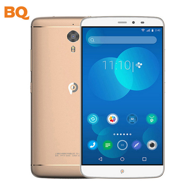 Original KING 7 PPTV Smartphone Helio X10 Octa Core 6.0 inch 2.5D IPS 2K Screen 2560x1440 3GB+32GB 4G LTE Mobile phone