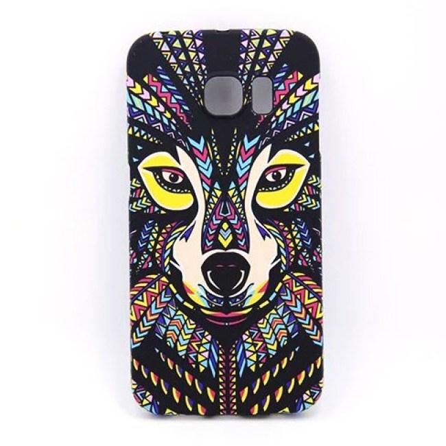 מדהים ג ' ונגל חיות פיל נמר זאב לילה זוהר אור בחושך סלים טלפון המקרים כיסוי עבור Samsung Galaxy S6 S6Edge S7 S7Edge