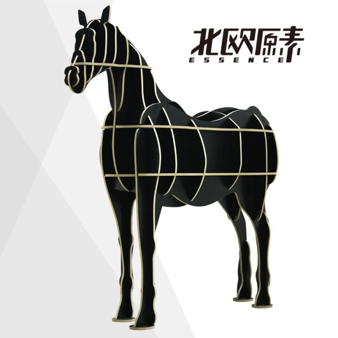 Aliexpress Com Wooden Horse Wall Decoration Crafts Animals Head Home Decor Novelty Items Diy Wood Craft Art Carving From