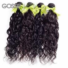6A Brazilian Virgin Hair 4 Bundles Natural Wave Queen Hair Products Brazilian Hair Weave Bundles Curly Weave Human Hair No Shed(China (Mainland))