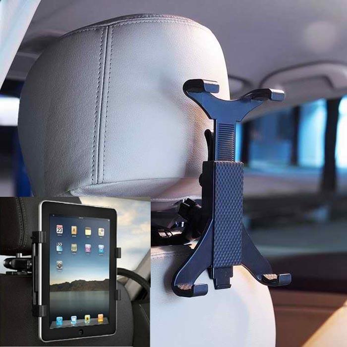 #12 2016 מכונית חדשה מושב אחורי משענת ראש הר מחזיק עבור אייפד 2/3/4/5 Galaxy Tablet Pc auto dietro poggiatesta מונטה titolare לכל
