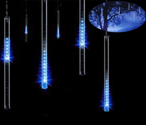 80LED Christmas Lights Outdoor Curtain Led String Lights LED Lights Decoration Llight String Outdoor Lighting Meteor Shower Rain