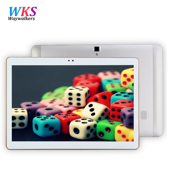 Waywalkers планшетный пк Android 6.0 10 дюймов tablet pc Окта основные 4 ГБ RAM 64 ГБ ROM 8 Ядер 5MP IPS Дети Лучший Подарок Таблетки компьютер