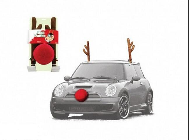 2016 Hot Er High Quality Christmas Reindeer Car Dress Up Kit Decoration