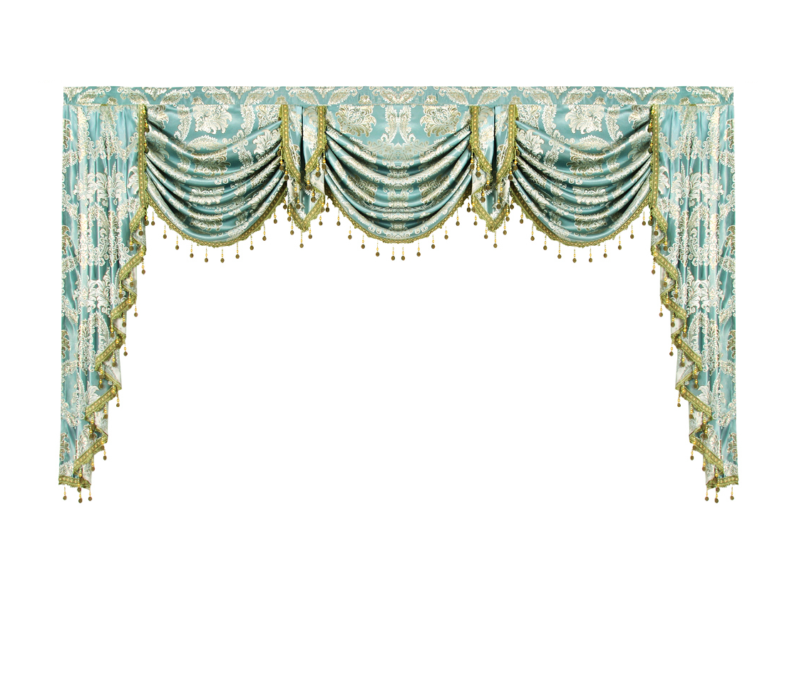 Valance Lambrequin Swag European Royal Luxury Valance Curtains For Living Room Window Curtains For Bedroom Valance Kitchen Gold