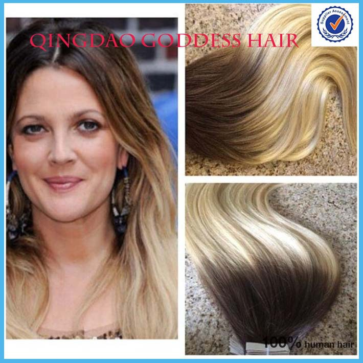 ombre tape in weft