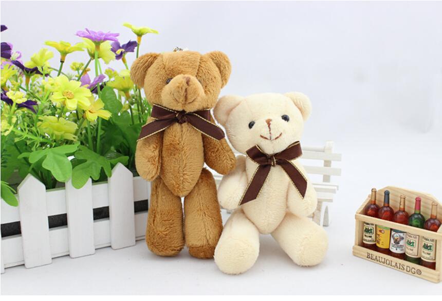 Factory Wholesale Tie Teddy Bears 12cm Wedding Gift
