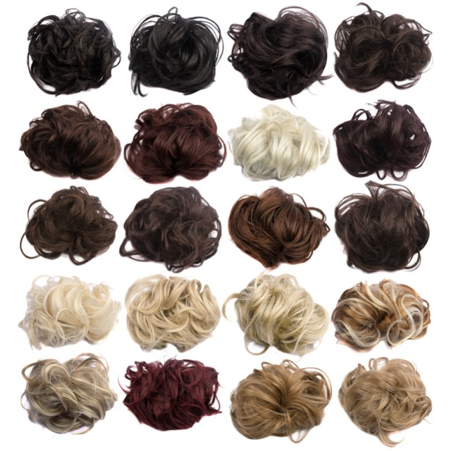 aliexpress high qulaity synthetic hair scrunchie 35g high light hair accessories for wedding curl synthetic fiber attachment - unfair weight
