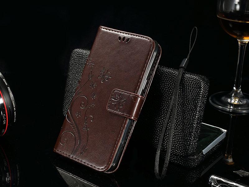 טלפון המקרים עבור Sony Xperia Z3 Compact D5803 D5833 M55w עור PU המקרים פרפר ארנק כיסוי עבור Sony Xperia Z 3 מקרה קומפקטי