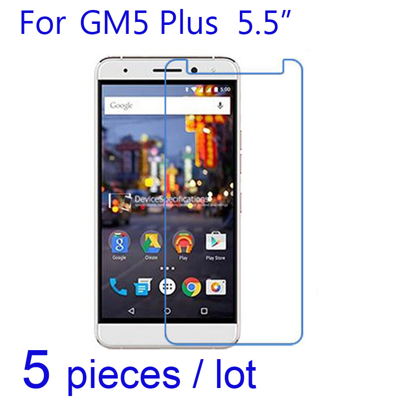 5pcs/lot Clear/matte/Nano Explosion-Proof Protective Films for Google General Mobile GM 4G 6/GM5 Plus/GM6 Screen Protector Guard