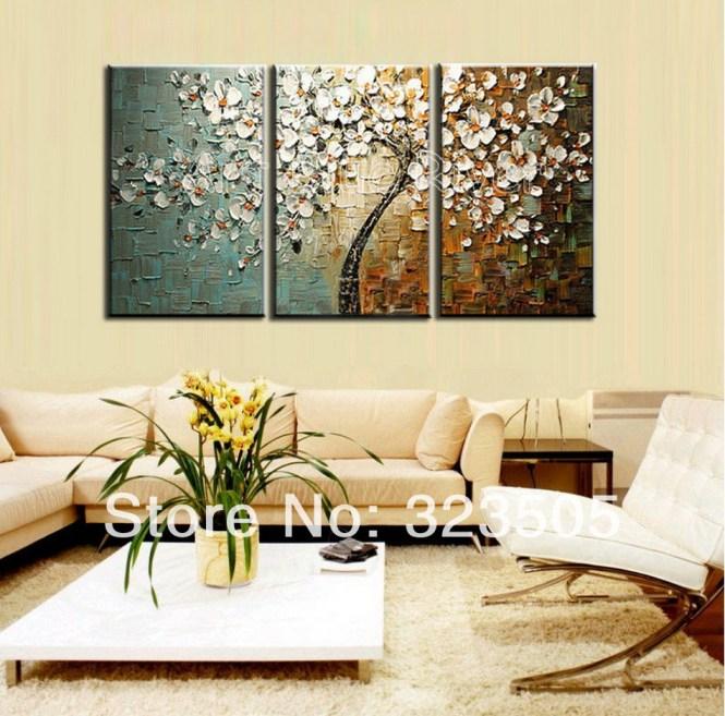 Wall Art Decor Cool Design3 Piece Canvas Modern Interior