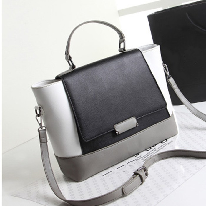 unique Noted Luxury Company Vogue Girls Lady PU Leather Smiley Tote Bag e7cf112583493