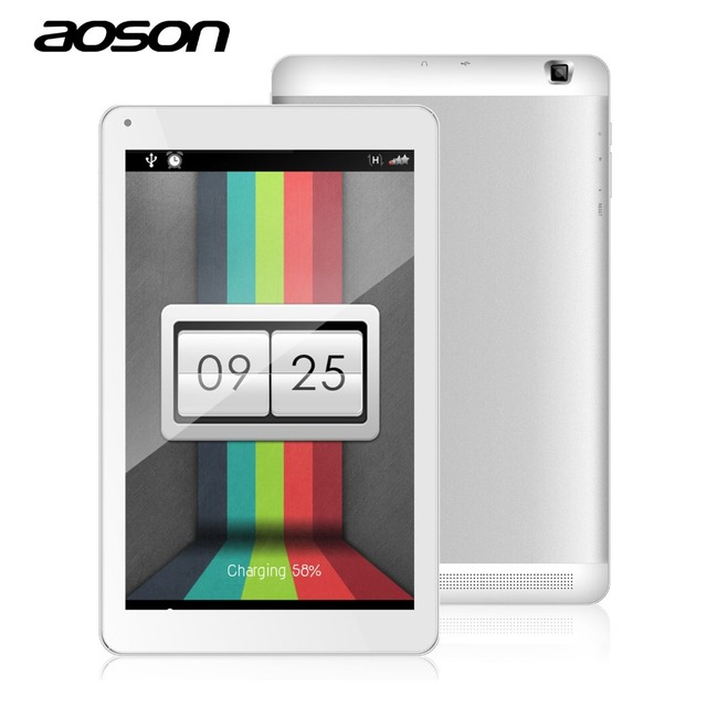 AOSON M106FD 3 Г 4 Г Фаблет 10.1 дюймов MTK8735 Quad Core 1 ГБ + 8 ГБ Двойная Камера WI-FI Bluetooth IPS Экран Android 5.1 Tablet ПК