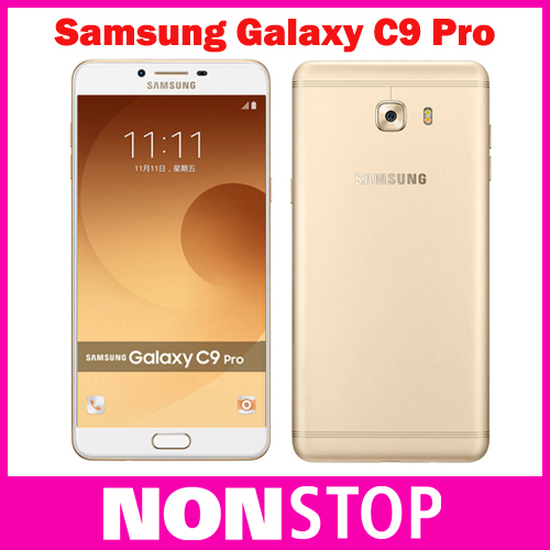 2016 Original Samsung Galaxy C9 Pro C9000 4G LTE mobile phone Octa core Android 6.0 6GB RAM 64GB ROM 16MP Camera 6'' Cell Phone