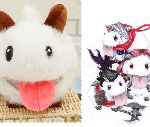 Cm Lol Poro Plush Toy Poro Doll Legal Edition High Quality Hot Sale Us600