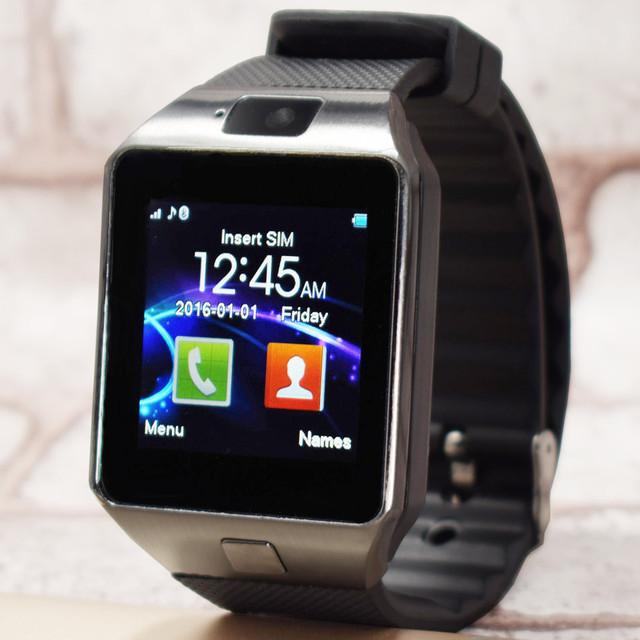 Популярные Smart Watch DZ09 С Камерой Bluetooth Наручные Часы Sim-карты Smartwatch Для Ios Android Телефон Поддержка Нескольких Языков