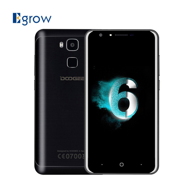 Original Doogee Y6 Piano MTK6750 Octa Core Android 6.0 Mobile Phone 5.5 Inch 3200mAh Cell Phone 4G RAM 64G ROM Unlock Smartphone