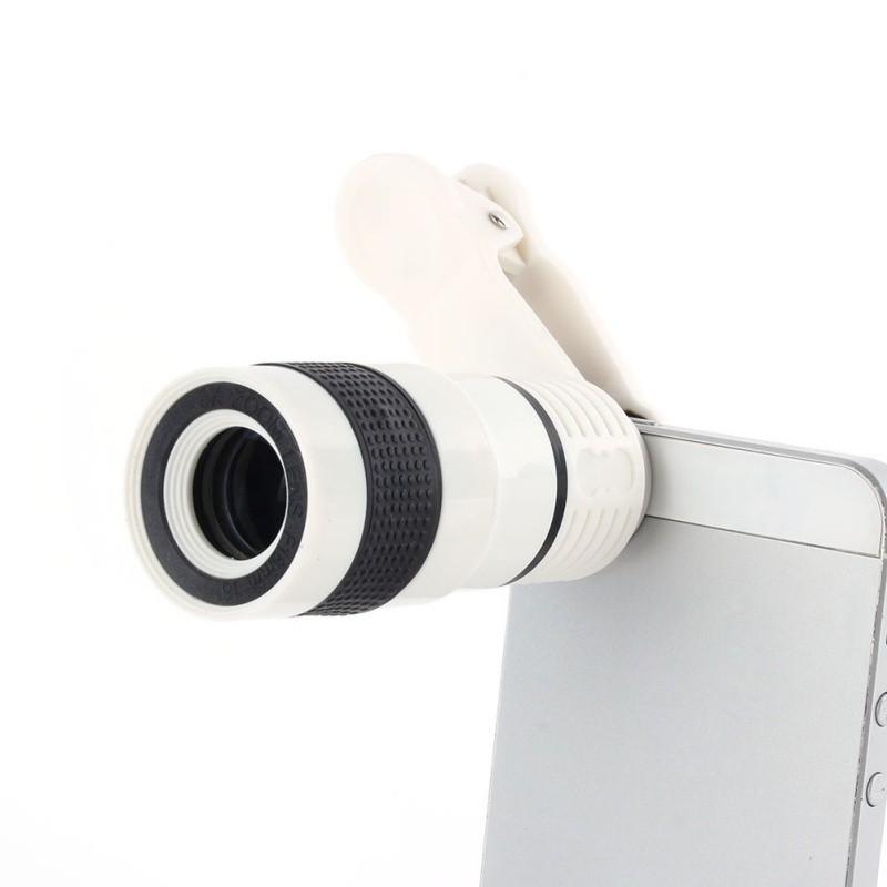 8x זום טלסקופ טלה עדשת המצלמה של סמסונג S6 הערה 5 iphone 6 Plus טלפון נייד
