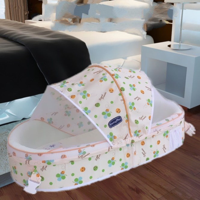 Bed Cotton Mattress Foldable Baby Bedding Warm Comfortable Crib