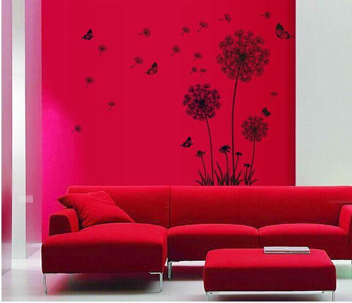 Resultado de imagem para decoração com adesivos sala