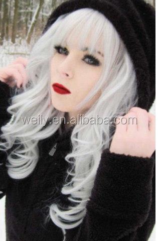 hair colour silver semi permanent hair color