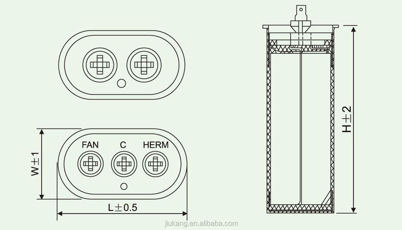 Air Conditioner Run Capacitor Wiring