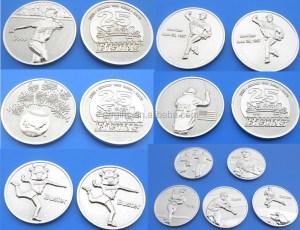 Cheap Custom Blank Brass Coin Silver Copper Coin Wholesale ...