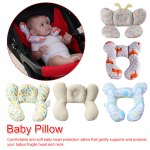 Infant Head And Neck Support Pillow Toddler Soft Head Neck Support Organic Baby Travel Pillow For