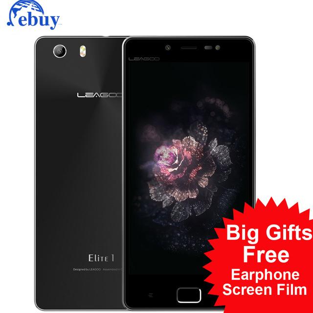 """Оригинал Leagoo Elite 1 Мобильный Сотовый Телефон MTK6753 5.0 """"FHD 4 Г LTE Окта основные Android 5.1 3 ГБ RAM 32 ГБ ROM 16MP + 13MP Смартфона"""