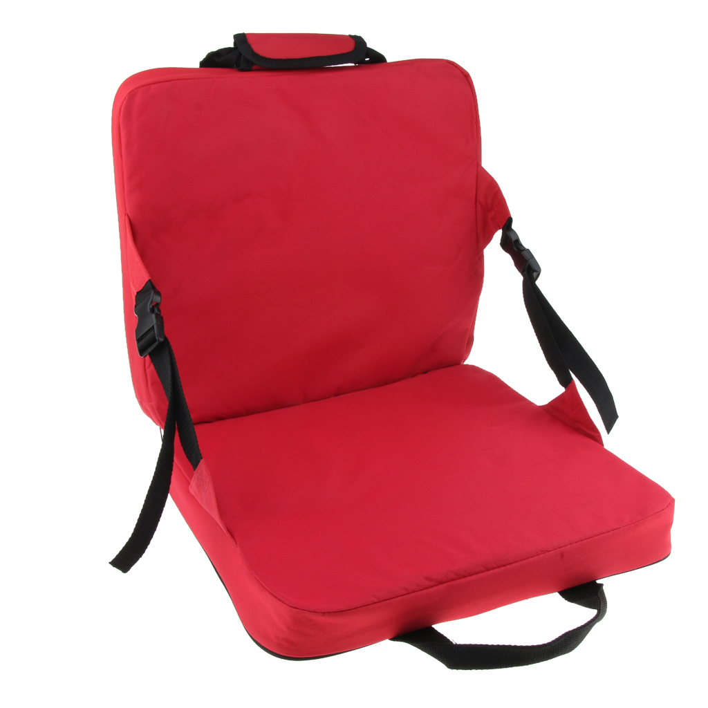 Portable Lightweight Stadium Seat Cushion Chair Bench Bleachers With Back Support For Patio Garden Party Hiking Camping Fishing Chairs Aliexpress