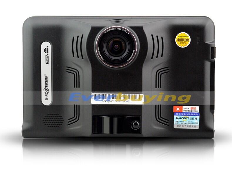חדש 7 אינץ ' HD אנדרואיד ניווט GPS Anti גלאי רדאר לרכב DVR מקליט מצלמה משאית רכב gps המפה ללא tablet 8GB