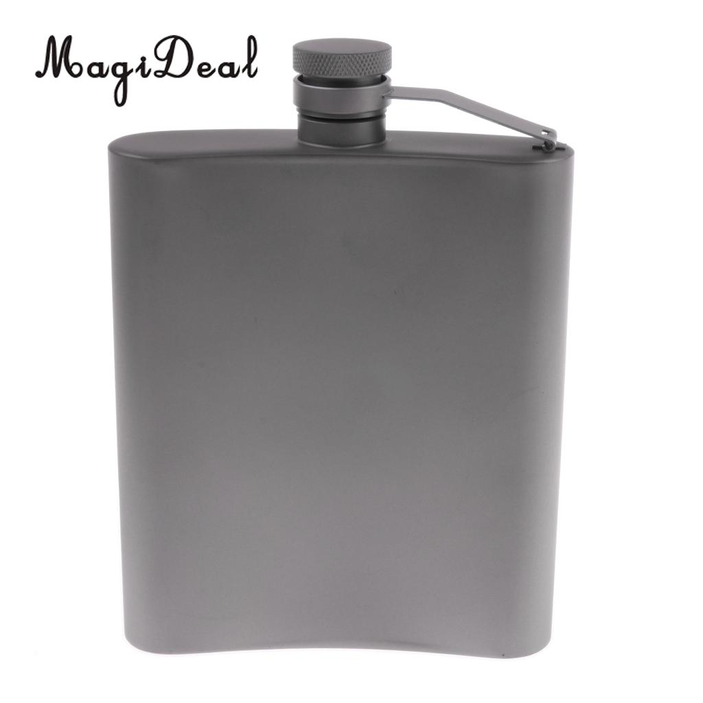 MagiDeal Titanium Hip Flask Pocket Liquor Bottle for Outdoor Camping Hiking Backpacking  MagiDeal Titanium Hip Flask Pocket Liquor Bottle for Out of doors Tenting Mountaineering Backpacking HTB14ZTEaiMnBKNjSZFoq6zOSFXaq