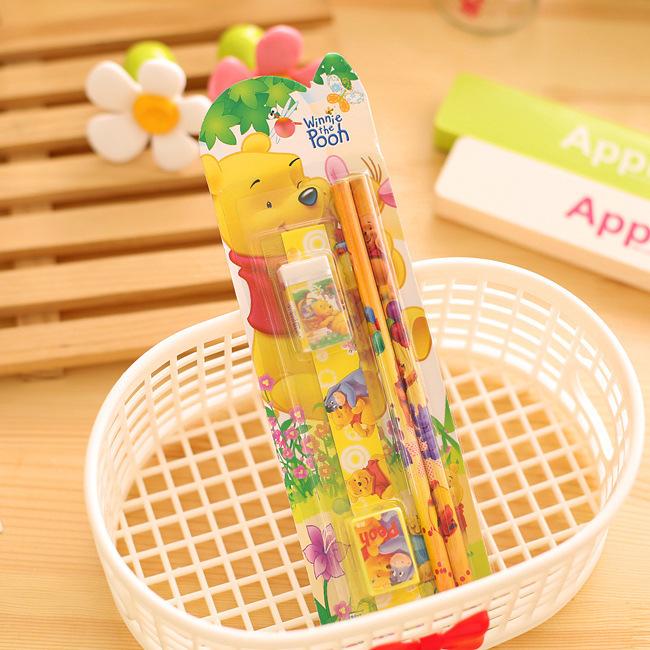 2619712659_1758922470  10packs/lot 5 in One Disny Mickey Snowwhite Kitty Pencil Writing Pen Stationery Kits Children Birthday Occasion Favor Take-home Items HTB14h9UNpXXXXXcaXXXq6xXFXXX5