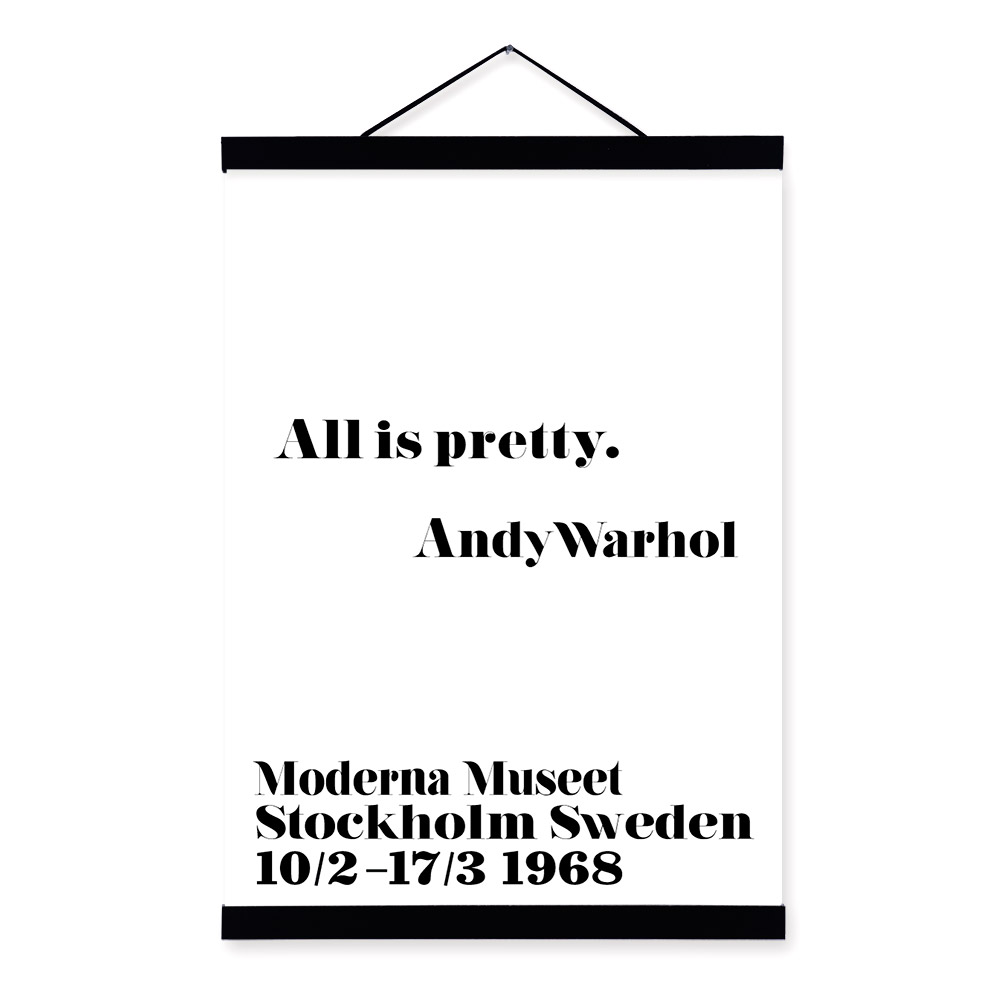 Andy Warhol Quotes Framed