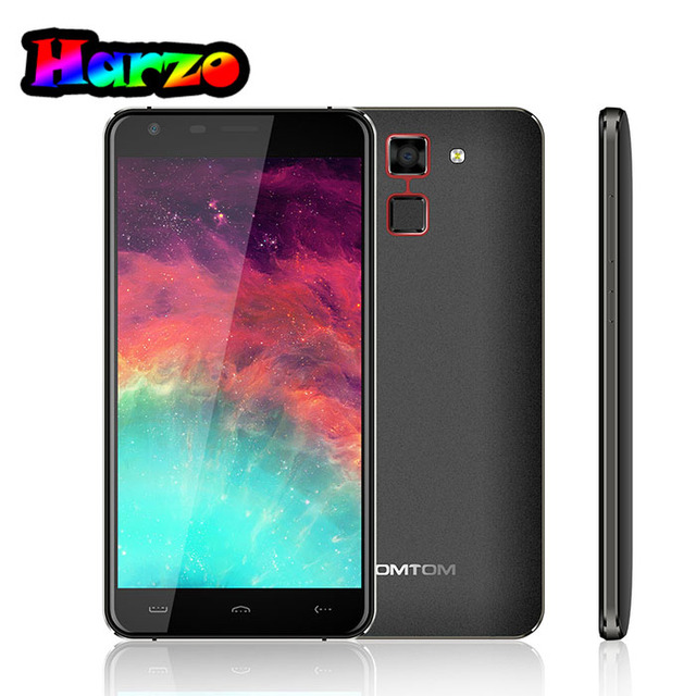 Original Homtom HT30 Android 6.0 Quad Core MT6580 1.3GHz 1GB RAM+8GB ROM 5.5 inch 8.0MP+5.0MP 1280*720P 3000mAh Mobile Phone