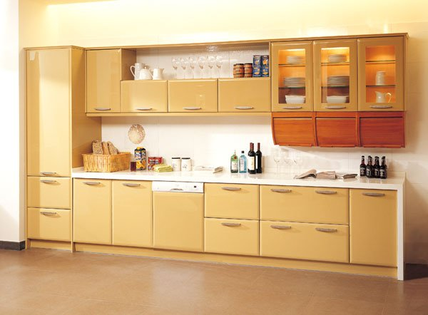 Lacquer Kitchen Cabinet Cabinets Home Improvement