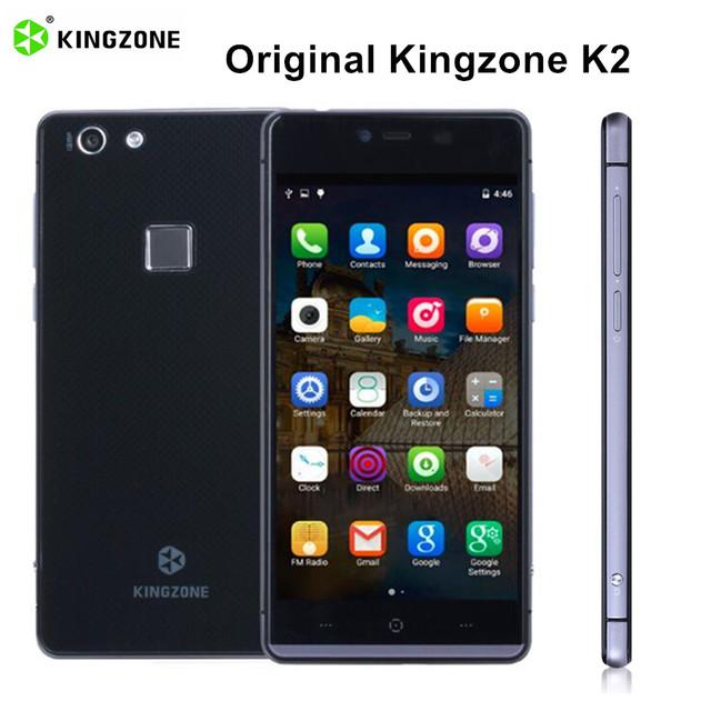 Original Kingzone K2 5'' 4G Android 5.1 Smartphone 1920*1080 Octa Core FHD 3GB+16GB Mobile Phone 13.0MP Dual SIM Fingerprint 4G