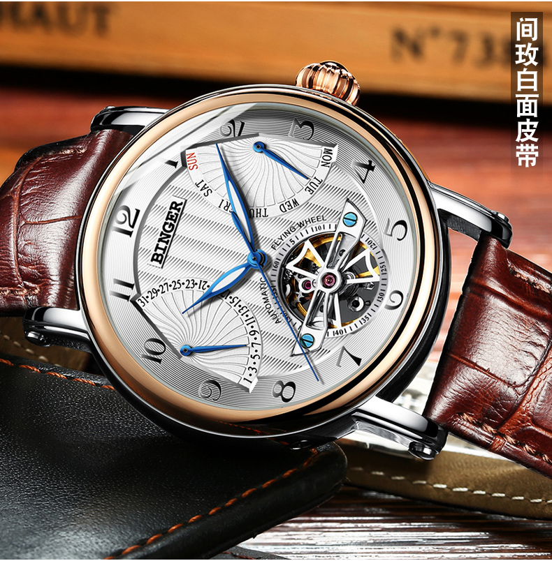 Switzerland watches males luxurious model BINGER enterprise sapphire Water Resistant leather-based strap Mechanical Wristwatches B-1172-Four HTB1PodWQXXXXXcIXXXXq6xXFXXXr